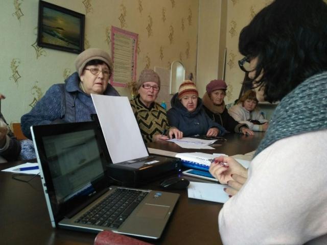 Виїзний «мобільний соціальний офіс» в ЗНВК №19
